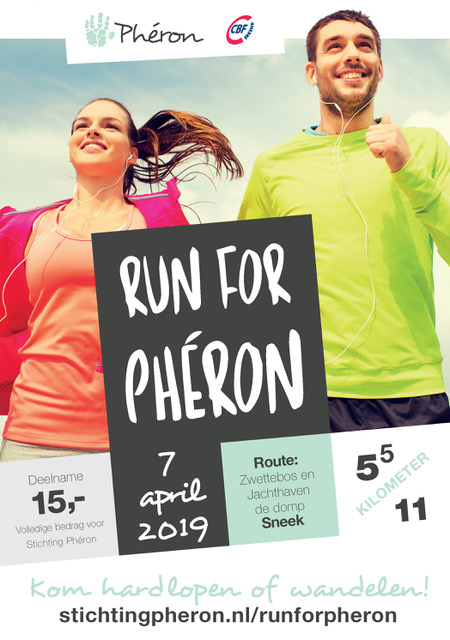 COVER PHERON Run flyer A5 7 april 2019